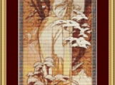 Hiver Cross Stitch Pattern