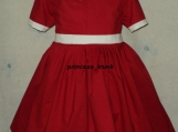 NEW Movie Little Orphan Annie Red Dress 4 Halloween/Stage Play