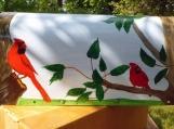 Custom Painted Rural Mail Box