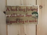 Fishing Lover's Sign.