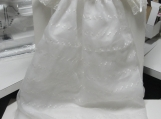 Baby, Infant, Child, Christening gown, Baptismal Dress, White, L