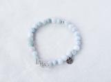 New Jade & Argentium Silver Bracelet