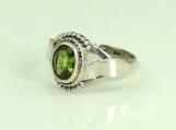 Peridot Ring, 925 solid sterling silver ring,peridot silver ring