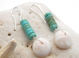 Puka Shell Earrings