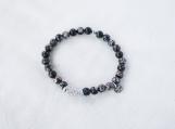 Turitella Jasper & Argentium Silver Bracelet