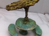 #656 Willow Picnic Table /umbrella