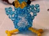 Bird Crystal Handmade Charm