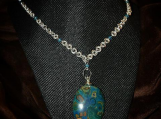 Designer Chainmaille Necklace The Painters Choice
