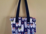 Insulated lunch bag, waterproof lunch bag, Llama, kids lunch bag