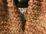 Knitted Cowl, Knitted Infinity Scarf, Bulky Scarf, Multicoloured