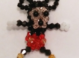 Mickey Mouse Handmade Crystal Charm