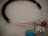 What's Your Sign? Memory Wire Zodiac Bracelets Capricorn