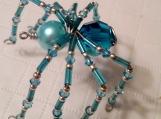 Wire Art Spider Charm