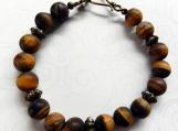 Brown Jasper Beaded Bracelet, Gift for Her/Him, Mothers Day