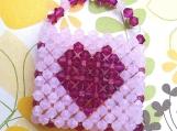Heart Purse Handmade Swarovski Crystal Charm