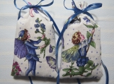 "Blue 4""X2"" Sachet-'Lavender Flower' Fragrance-Cindy's Loft-679"