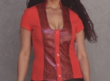 Red Snake Top (S,M,L)