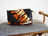 Tiger Faux Fur Purse