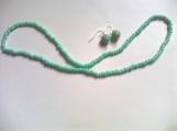 Turquoise Beaded Necklace Set