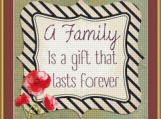 A Family Cross Stitch Pattern