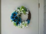 Daisy Door Wreath