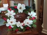Magnolia Door Wreath