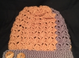 Slouch Hat with Side Buttons