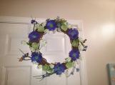 Summertime door Wreath