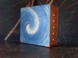 RHODE ISLAND WAVE design cigar box purse