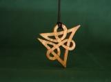 Eternity Celtic Pendant, Celtic Knot jewellery, Infinity Knot Pendant, Hand Carved Necklace, Irish Jewelry, Scottish Necklacee
