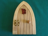 Opening Fairy Door, Dragon Door, Gnome, Elf, Leprechaun, Medieval decoration, Wee Folk Magical Door, Garden Decoration, Hinged Fairy Door