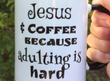 Jesus and Coffee Mug
