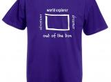 "Inspiring Men's T-Shirt ""Out of the box"""