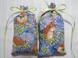 "Hedgehogs 5""X2"" Sachet-'Springtime Meadow Scent-Cindy's Loft-225"