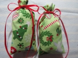 "Christmas Green 4""X2"" Sachet-'Christmas Tradition' Fragrance-143"