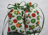 "Christmas Ivory 4""X2"" Sachet-'Wassail' Fragrance-511"