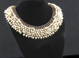 Flash Pearls necklace with Swarovski Pearls