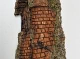 Michigan Cottonwood Bark Carving