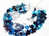3 Row Bracelet, Multi Strand Beaded Bracelet, Jewelry on Sale