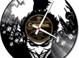 Batman 3 handmade vintage vinyl design clock