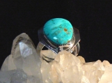 Candelaria Turquoise and Sterling Silver Ring