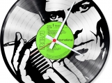 David bowie Loop-store handmade vintage double vinyl clock
