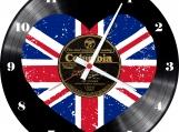 England 1 Loop-store handmade vintage vinyl clock