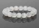 Protection Selenite Gemstone Bracelet
