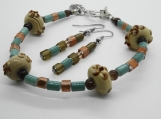 Desert Oasis Bracelet and Earring Set
