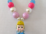 Girl's Aurora Princess Necklace