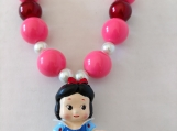 Girl's Snow White Necklace