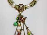 Green as nature  Necklace -  ALNE002
