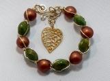 Beaded bracelet.-PABR033A