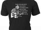 """Old Man Take a Look at My Life  Neil Young lyrics T-Shirt"
